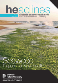 Sheffield Hallam University - Headline Research Magazine, Autumn 2008